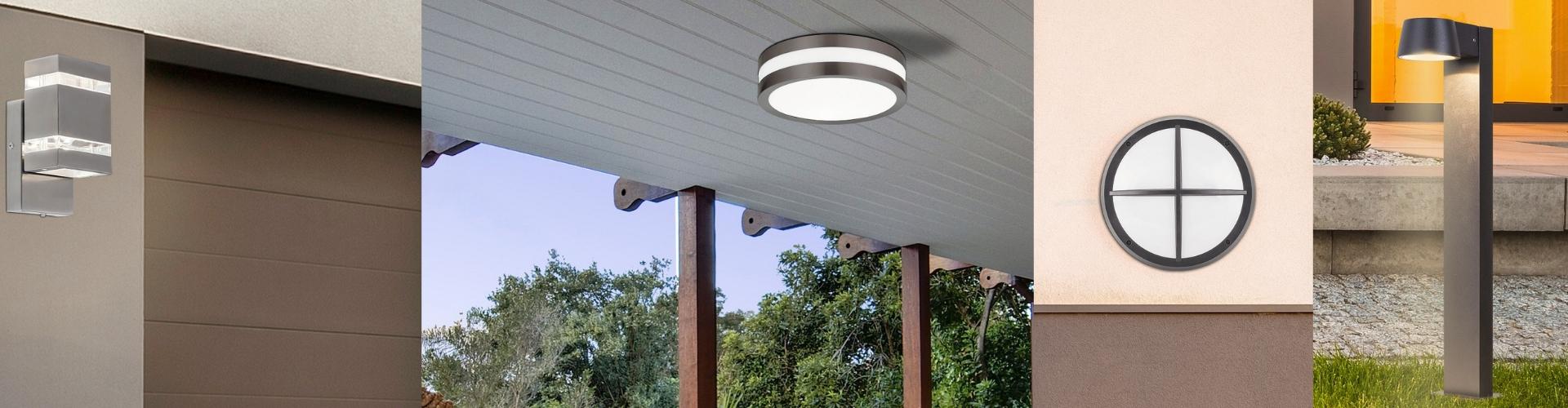 Lampes d'extérieur à détecteur de mouvement